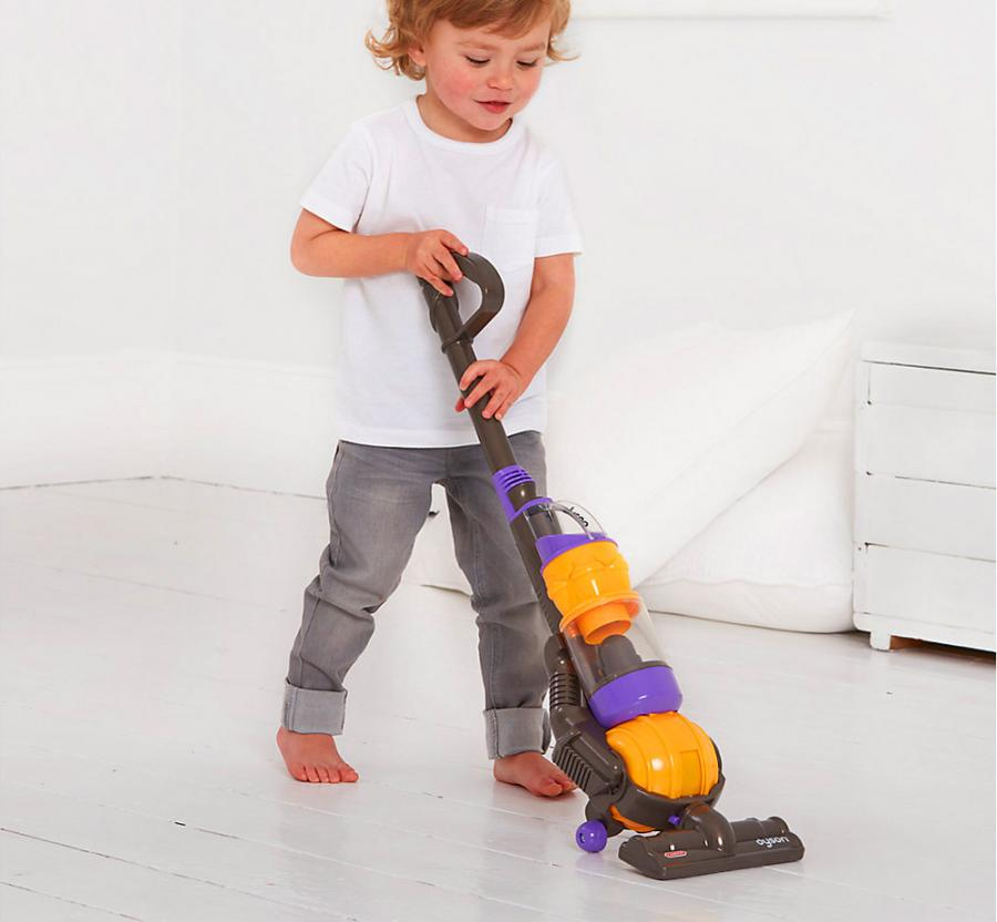 Mini Dyson Kids Vacuum Cleaner With Actual Suction And Sounds
