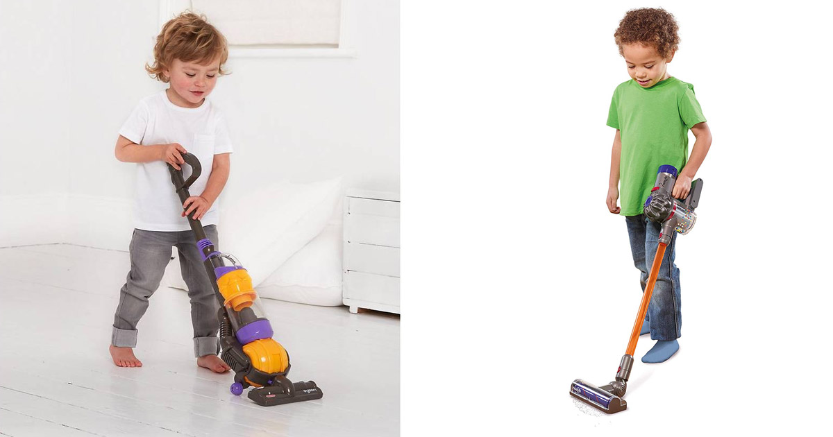 You Can Get a Mini Kids Vacuum Cleaner That Actually Cleans