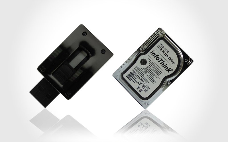 Mini Hard Drive Flash Drive 3
