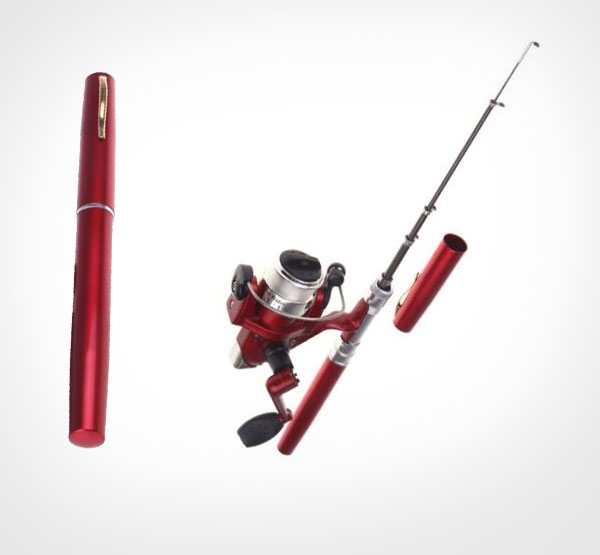 Mini pen sized fishing pole for Mini pen fishing rod