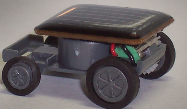 Mini Solar Powered Car