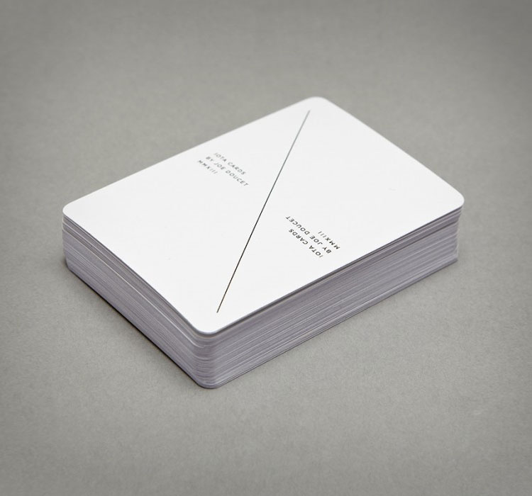 Iota Minimalist Playing Cards