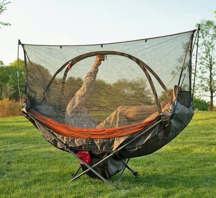 Mock One: A Compact Folding Hammock Chair