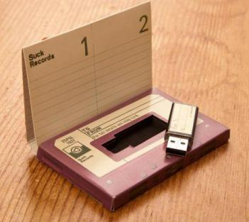Modern Days Mix Tape Flash Drive