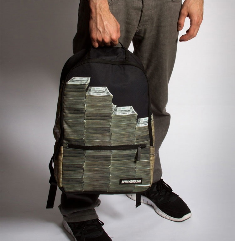 Stacks Of Cash Backpack