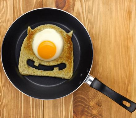 Monster Toast Cutter Makes Your Breakfast Look Like Mike Wazowski From Monsters Inc