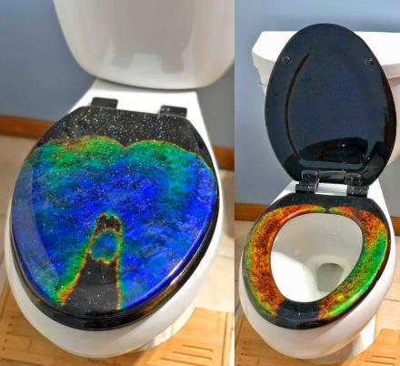 Mood Ring Toilet Seat
