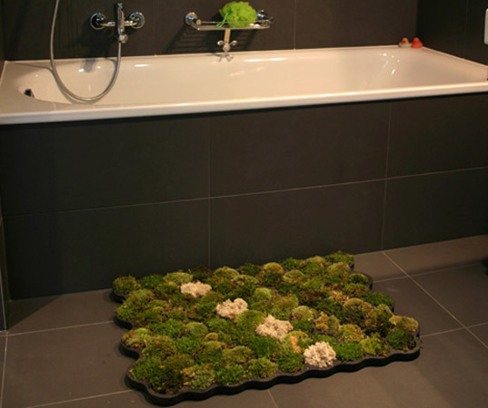 Moss Bathroom Carpet Rug