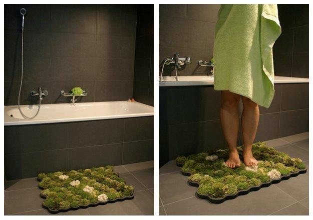 ... Moss Bathroom Carpet Rug ...