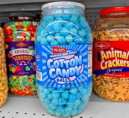 Move Over Cheese Balls, Cotton Candy Balls Are Here To Take Over