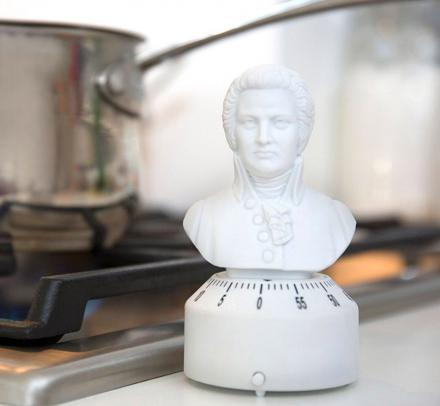 Mozart Kitchen Timer Plays Turkish March When Time's Up