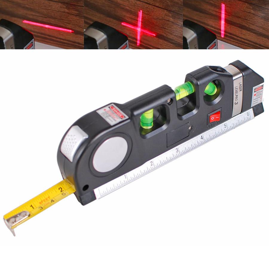 Multi Purpose Laser Level And Tape Measure