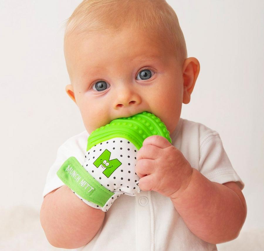 Munch Mitt Baby Teething Mitten