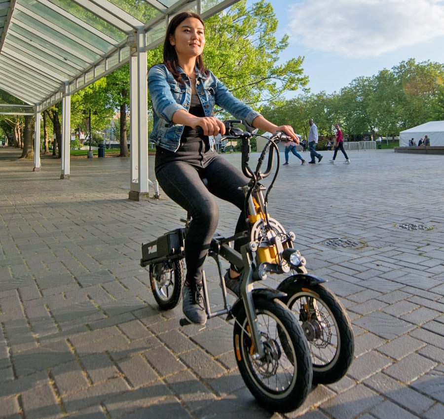 Mylo Folding Electric Tricycle Scooter