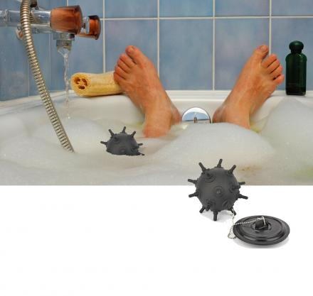 Naval Mine Bath Stopper