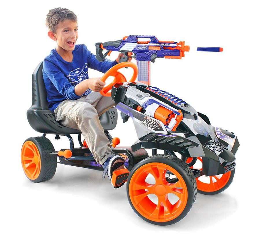 Nerf Ride On Battle Racer Kids Toy Car
