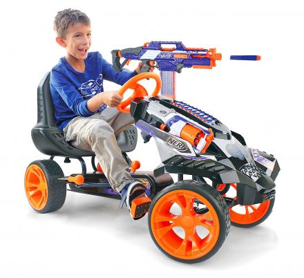 Nerf Ride-On Battle Racer Kids Toy Car