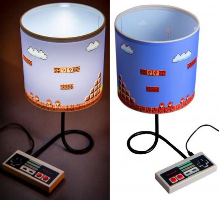 NES Controller Mario Lamp Deserves a Spot In Every Geeky Bedroom