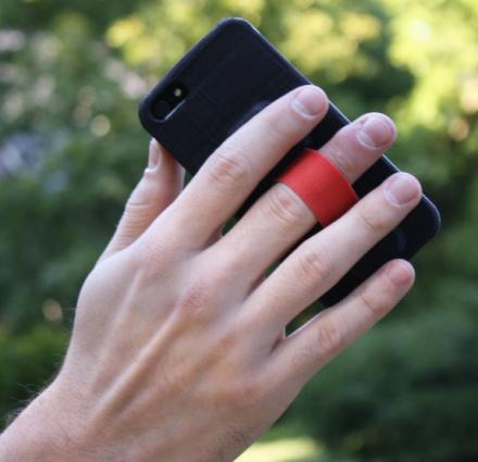 Neverdrop: iPhone Case With a Finger Strap On The Back
