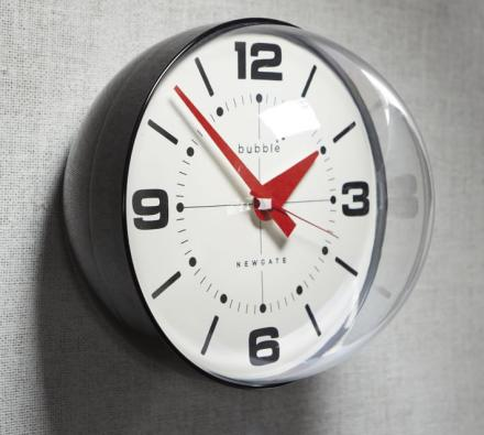 Newgate Bubble Shaped Wall Clock