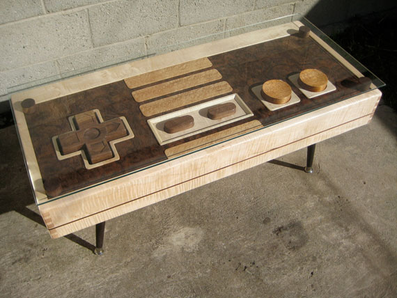 Nintendo Controller Coffee Table 2