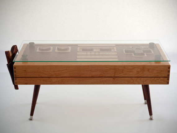 Nintendo Controller Coffee Table 3