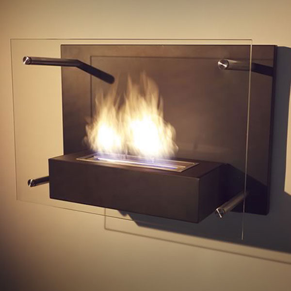 Nu-Flame Wall Mounted Fireplace