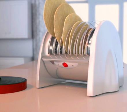 Nuni Toaster: A Tortilla Toaster For Quick and Hot Tortillas At Home