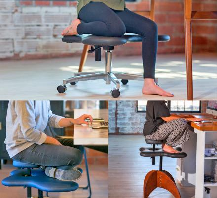 There's Now an Office Chair That Lets You Sit Cross-Legged, Or in Any Position