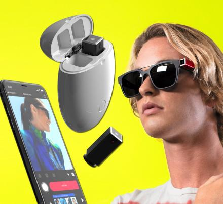 OPKIX ONE: A Tiny Wearable Camera That Attaches To Your Sunglasses