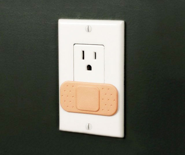 Ouchlet Band Aid Outlet Covers