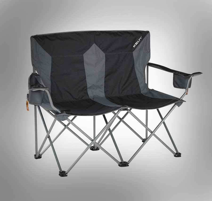 Outdoor Folding Love Seat Lawnchair