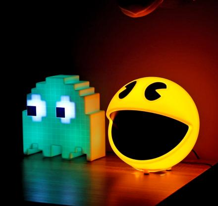 Pac-Man Lamps