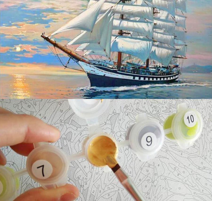 Paint By Numbers Kit For Adults Lets You Paint Your Own