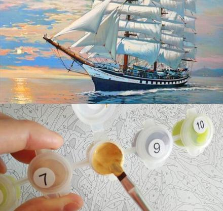 Paint By Numbers Kit For Adults Lets You Paint Your Own Masterpiece