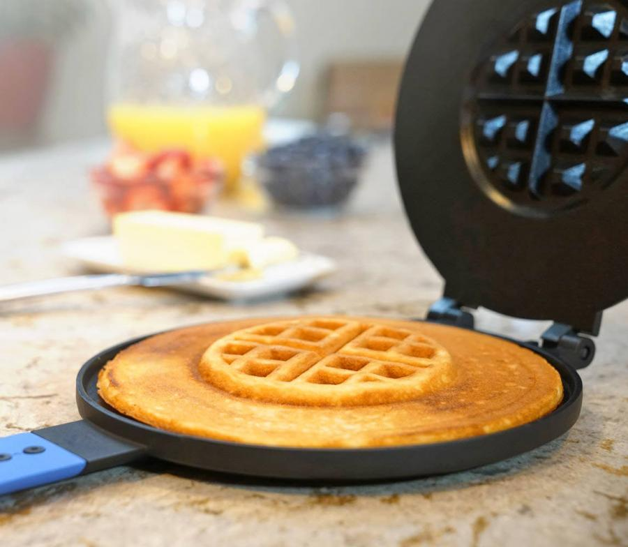 Sometimes Its Hard To Decide On Whether You Should Make Pancakes Or Waffles For Breakfast Ones Flat Fluffy And Delicious The Other Has Texture That
