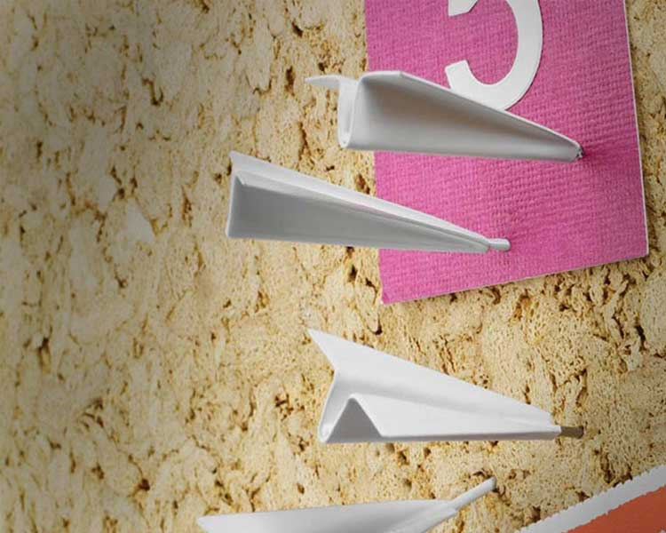 Paper Airplane Push Pins 2