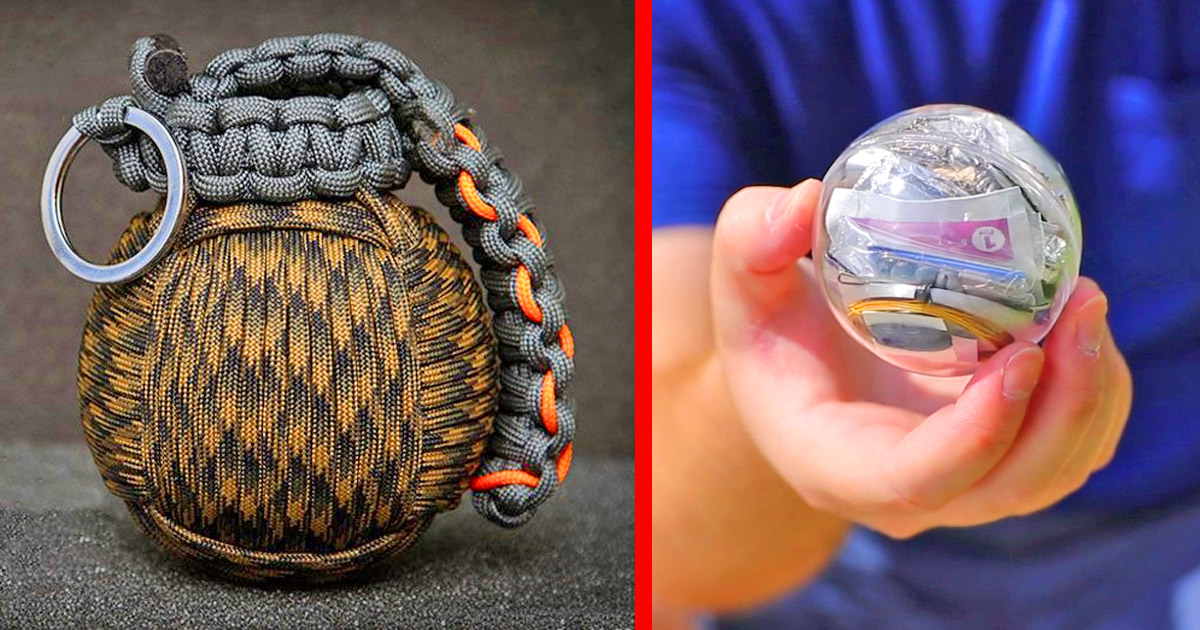 Paracord Survival Grenade That