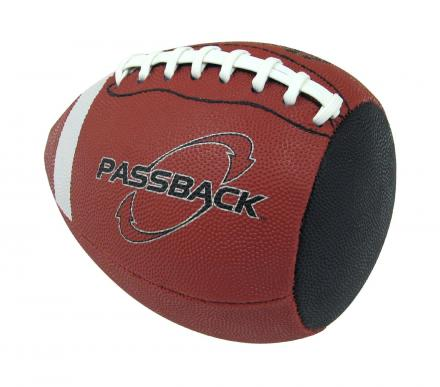 Passback Football Lets You Play Catch With Yourself Using a Wall