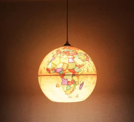 Globes Into Pendant Lights