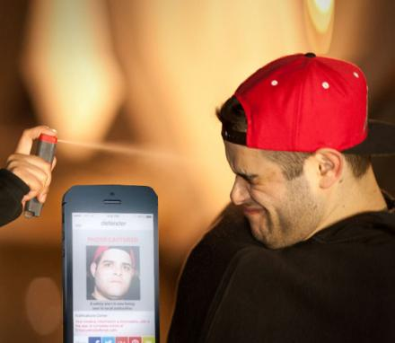 This Ingenious Pepper Spray Camera Takes A Picture And Alerts The Police