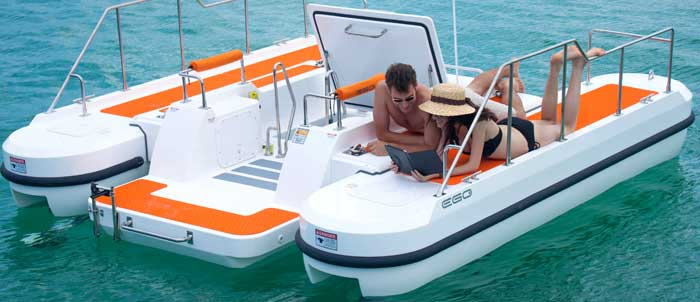 Personal Boat Submarine Hybrid Watercraft 2