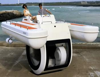 Personal Boat Submarine Hybrid Watercraft