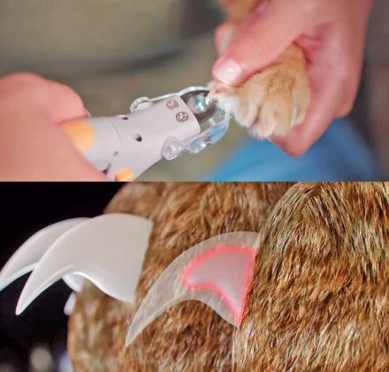 Peticare: Pet Nail Clipper With LED Light That Illuminates What Not To Cut