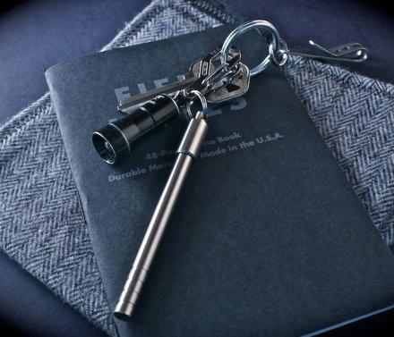 PicoPen Is a Titanium Key-Chain Pen For Writing On The Go