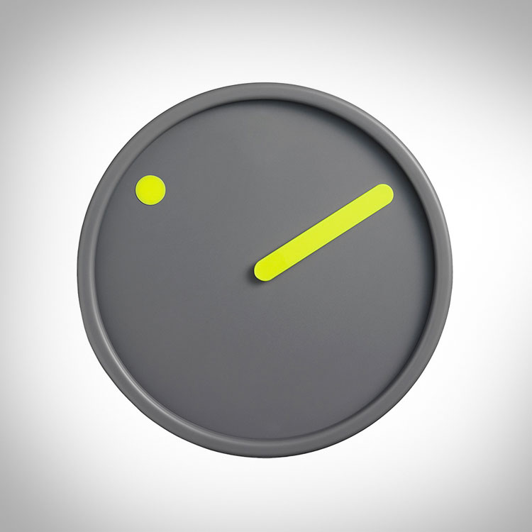 Minimalist Dot Wall Clock