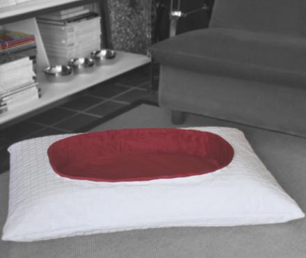 Pasha Pet Bed: A Pillow Shaped Dog or Cat Bed