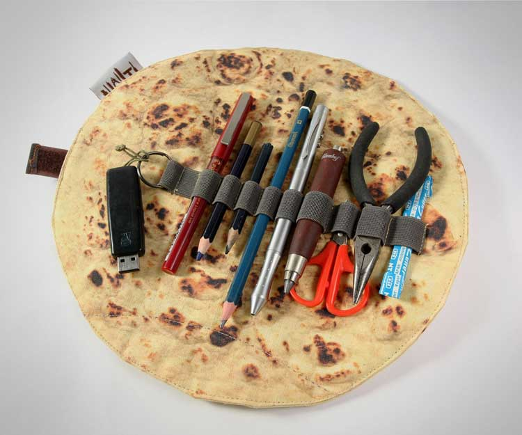 Pita Bread Pencil Holder 1