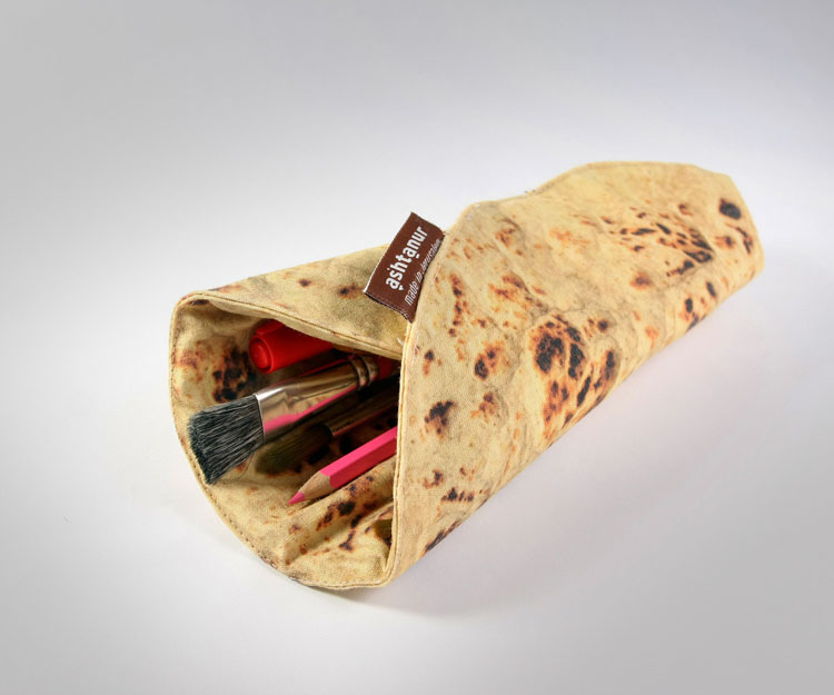 Pita Bread Pencil Holder 2