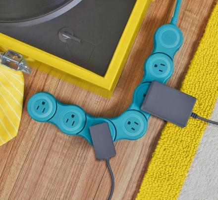 Pivot Power Strip Surge Protector - Bendable Surge Protector